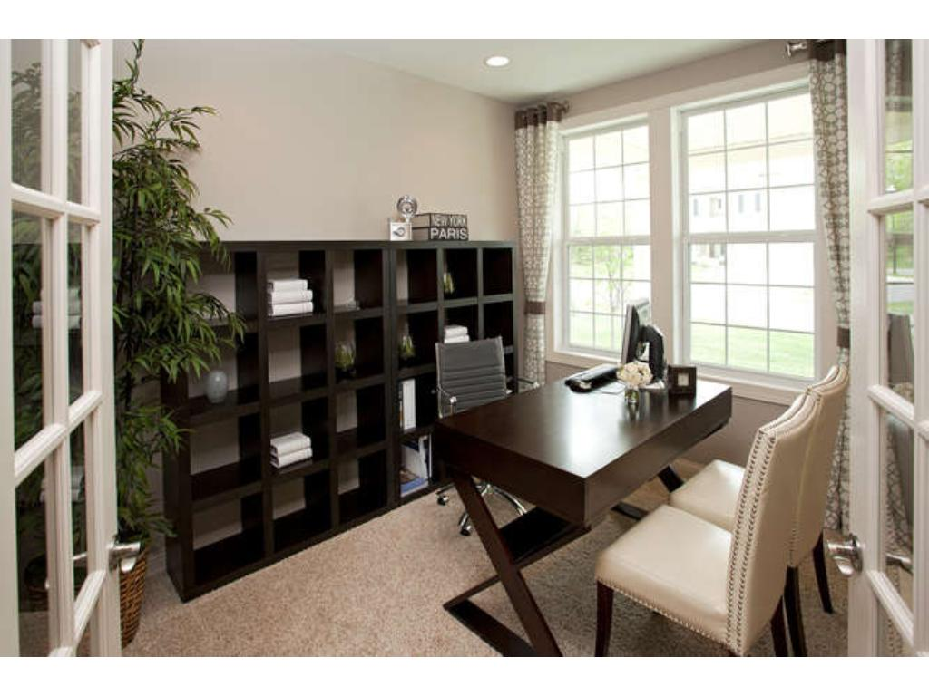 Photos of a Riverton Model (same floor plan, but finishes and options may vary) - Flex Room