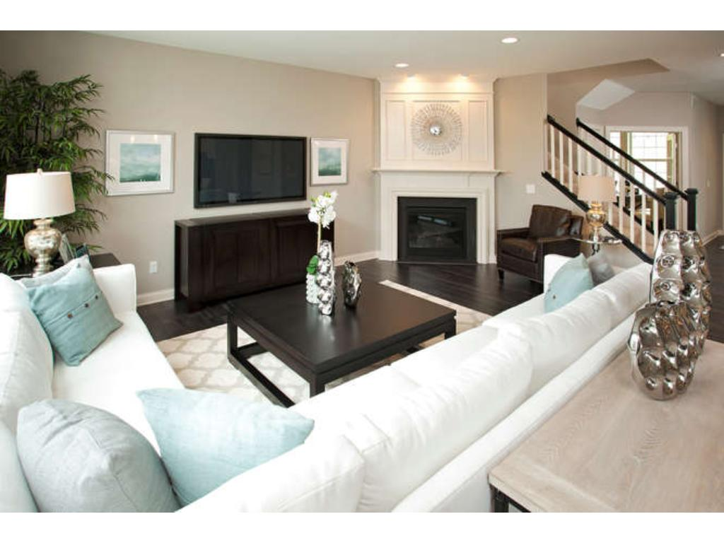 Photos of a Riverton Model (same floor plan, but finishes and options may vary) - Family Room
