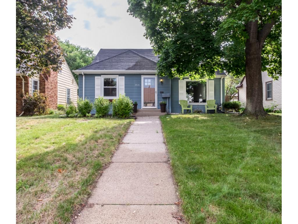 Cape Cod with great curb appeal in the SW Mpls Windom neighborhood.