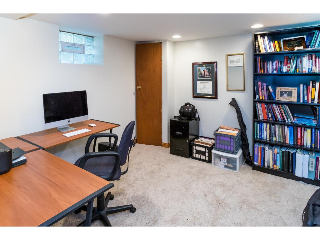 Nice private office area.