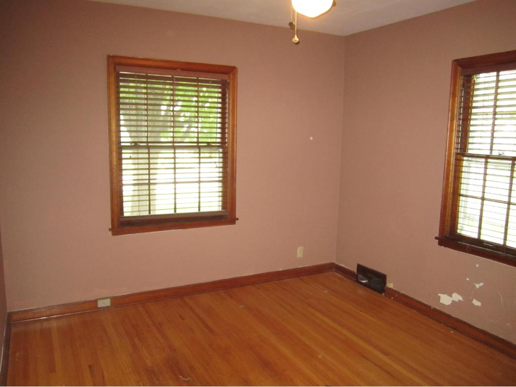One of 2 bedrooms on main level