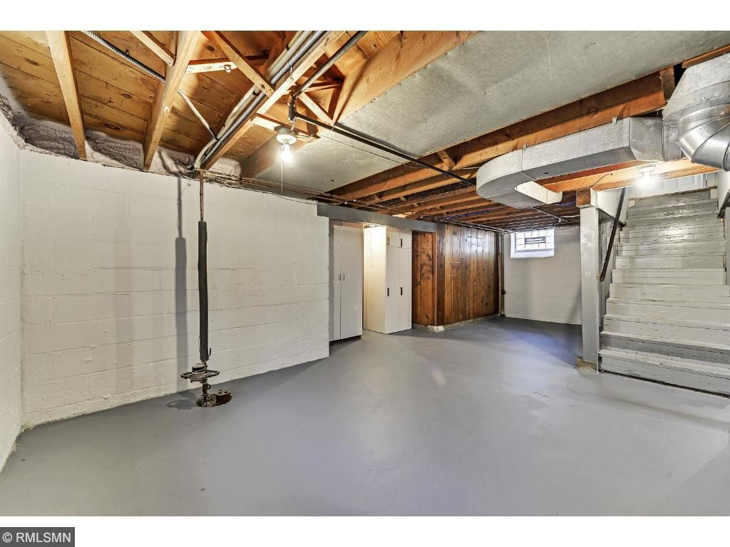 Lower level wide open spaces!  5525 36th Ave S
