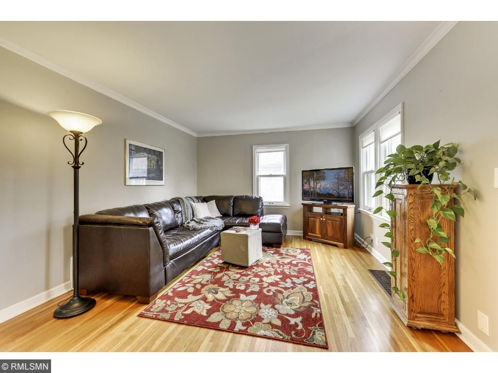 Sunny and bright living room!  5525 36th Ave S