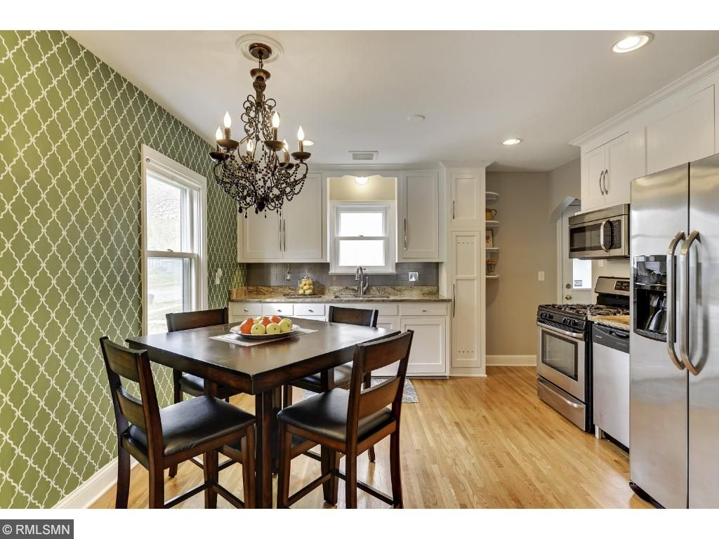 Gorgeous hardwood floors throughout!  5525 36th Ave S