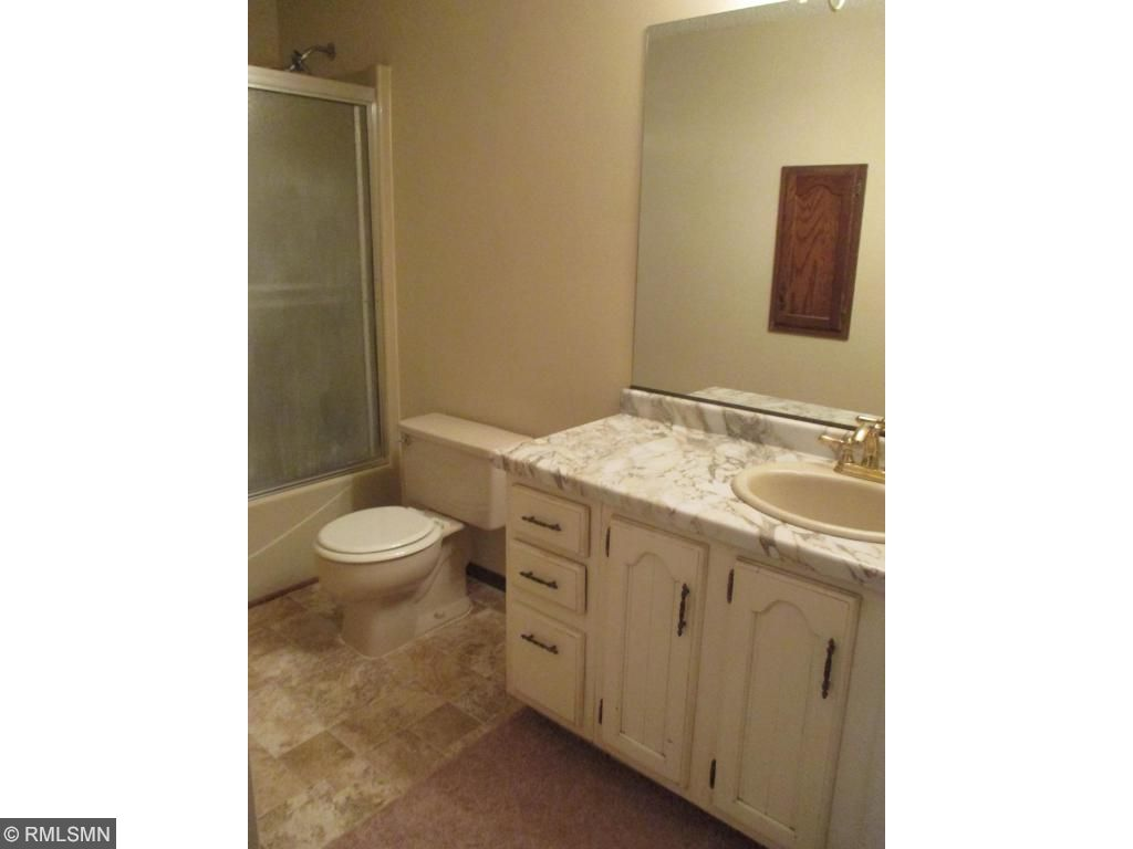 Here is the master bathroom.