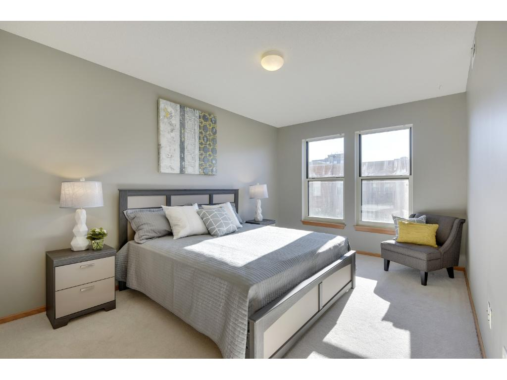 The master bedroom is waiting for your personal touch!