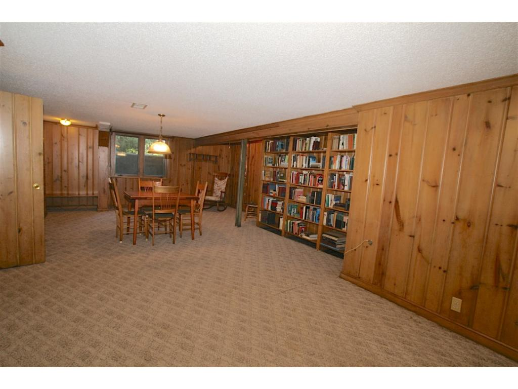 Lower Level with Built Ins