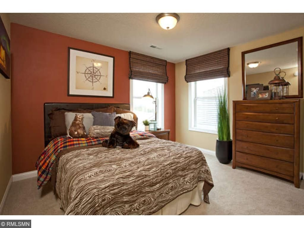 secondary bedroom (photo of model home)