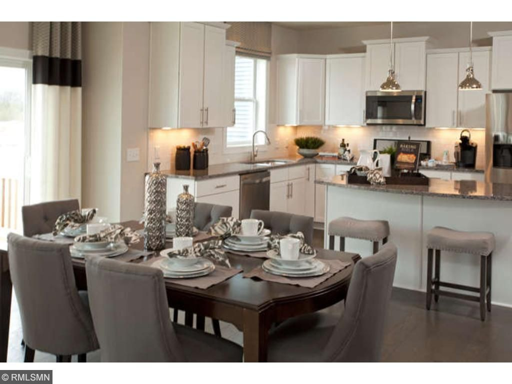 Large Kitchen (photo of model home)