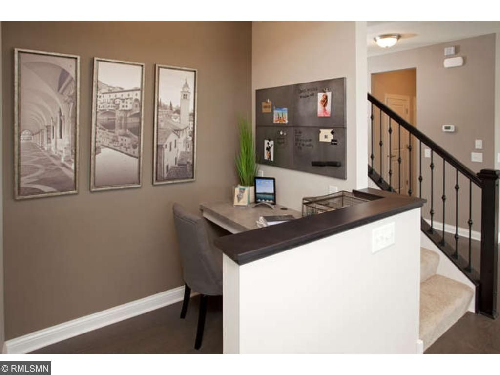 Pulte Planning Center!  (photo of model home)