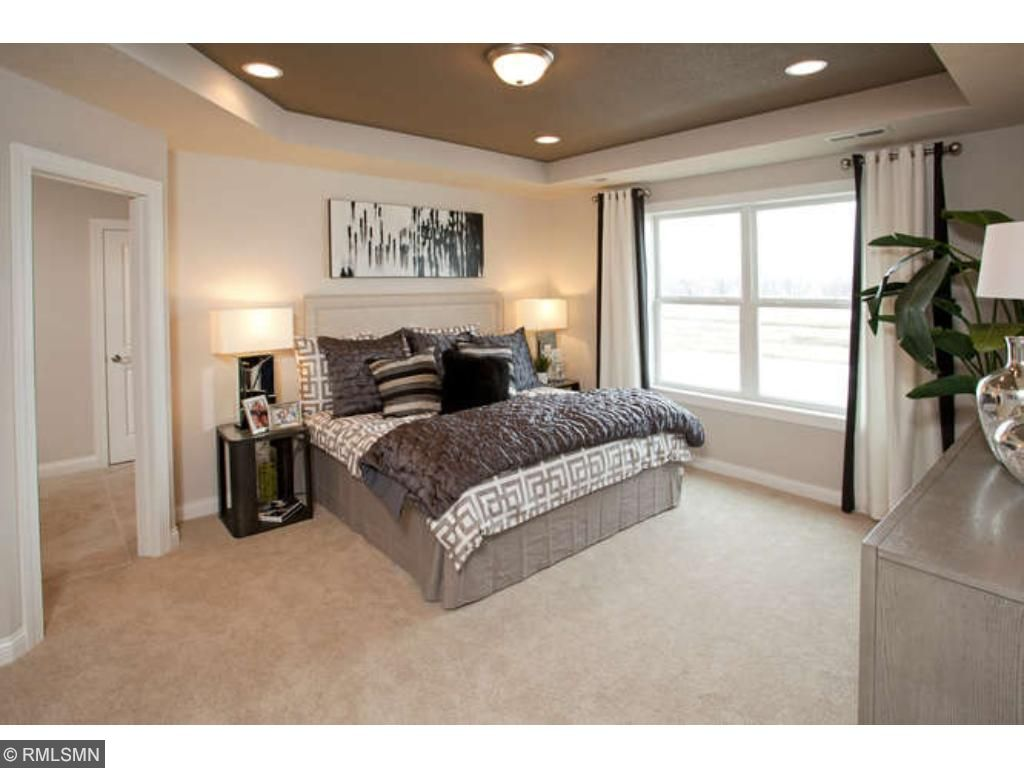 Spacious Owner's Suite (photos of model home)