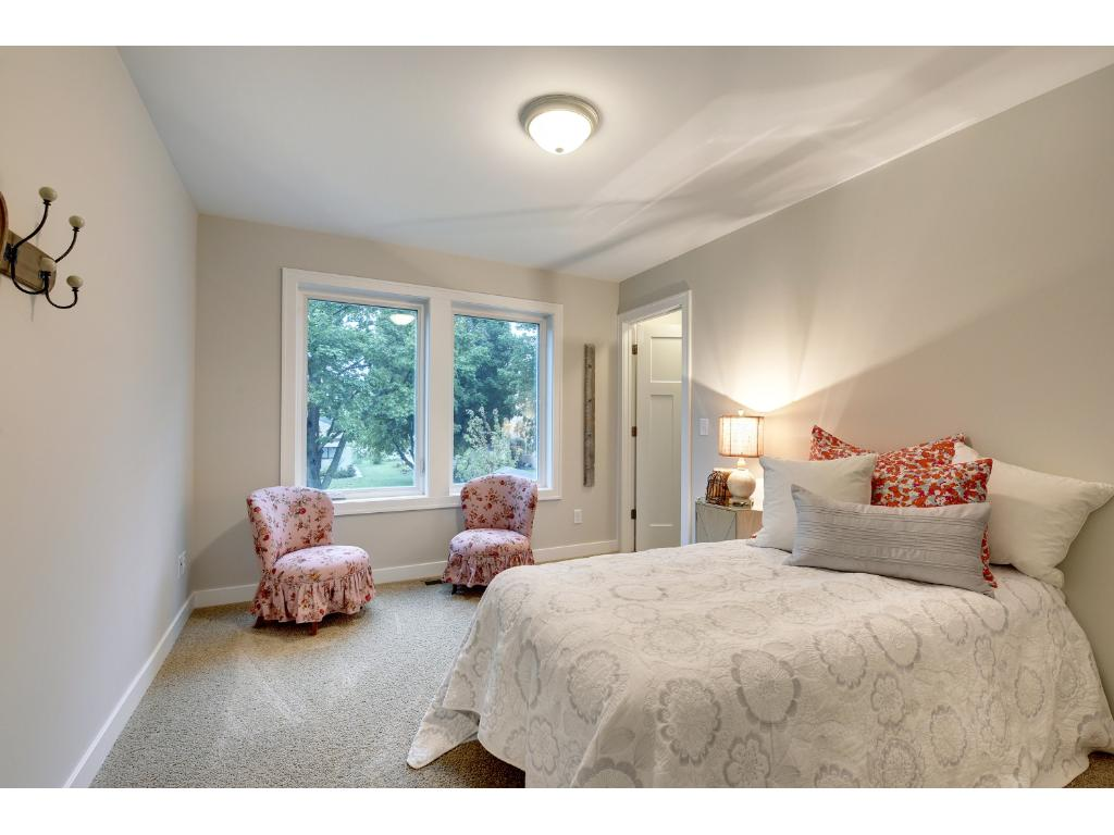 One of the additional upper level bedrooms