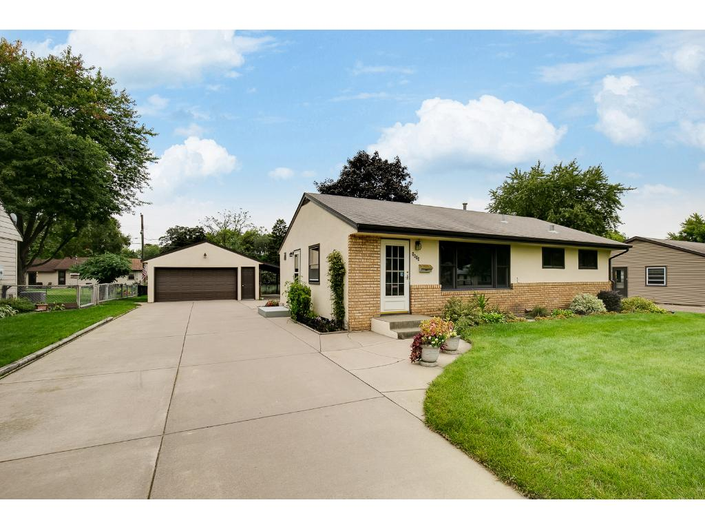 Welcome to 5631 Camden Avenue N. Well maintained home that is full of curb appeal!