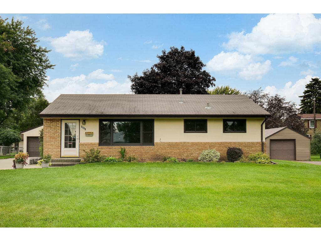 Upon walking up to the home, you'll immediately notice how well the seller has taken care of the home including the nicely manicured landscaped yard.