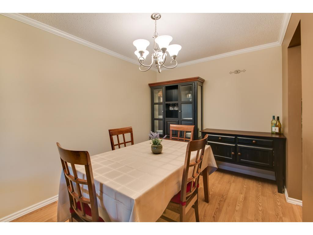 Family dinners will be full of joy in the spacious Dining Room!