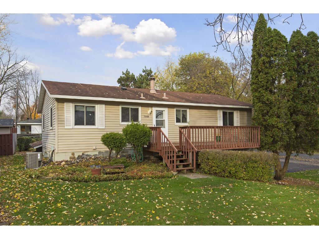Close to shopping and restaurants, this charming home is move in ready!