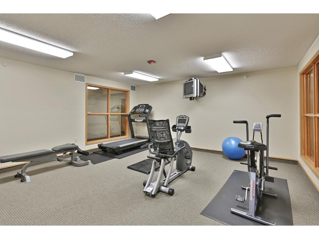 Exercise room - climate controlled - on 3rd floor