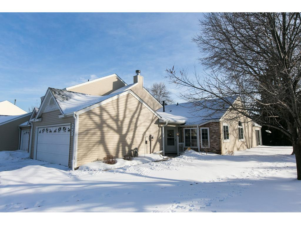 5667 donegal court shoreview mn 55126 mls 4913157 edina realty front door with view of open space to the side and back of this home rubansaba