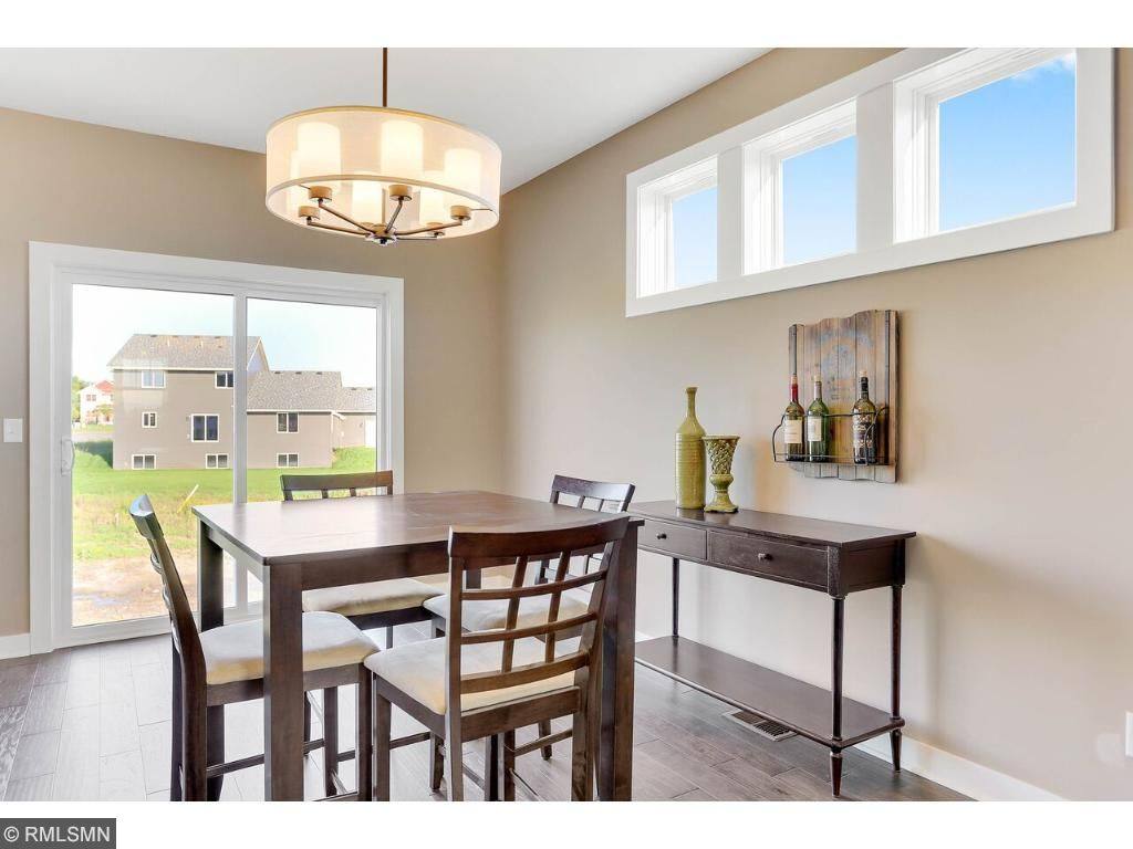 Spacious Dining with Walkout to Future Deck!
