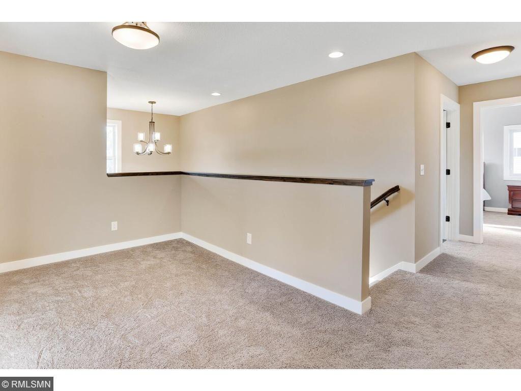 Loft makes great flex space - reading nook, desk area, kids tv area - you choose!