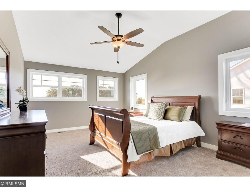 Luxurious Vaulted Master Suite