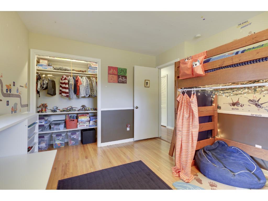 Bedroom #2.  Bunk beds, anyone?