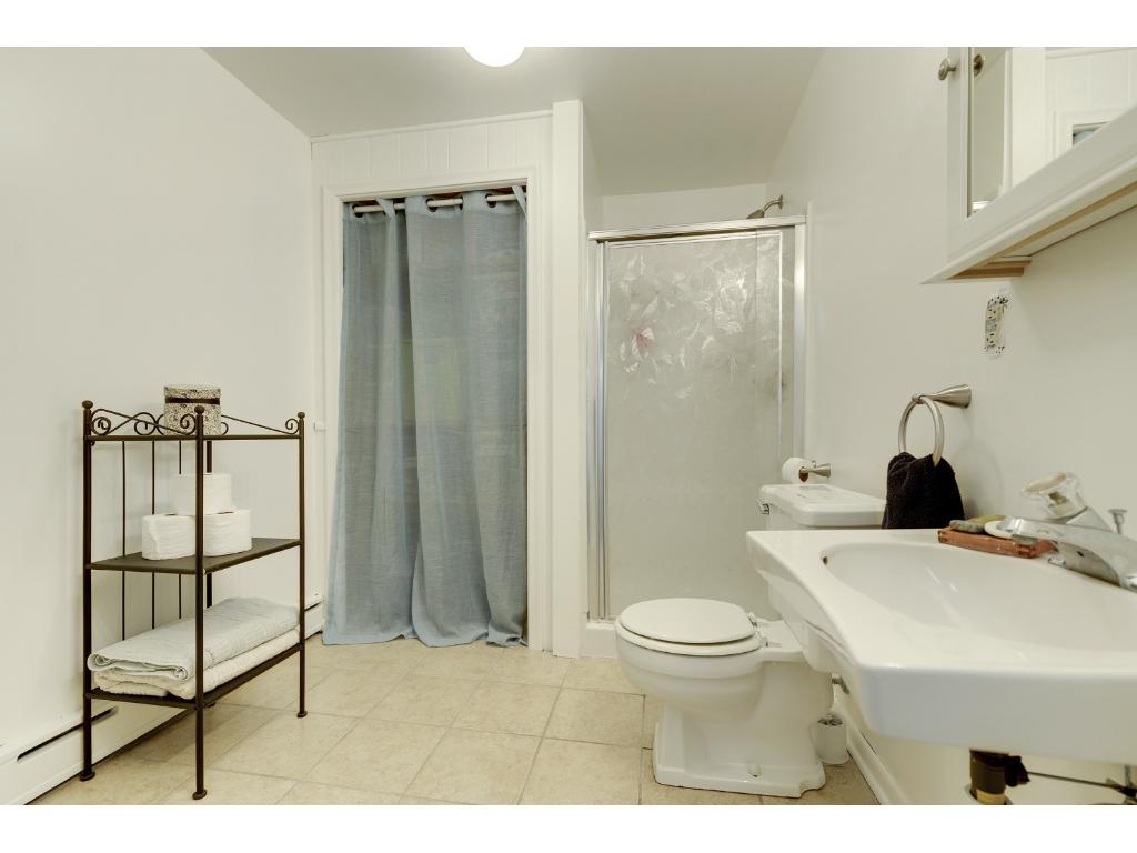 Lower level 3/4 Bath perfect for guests.