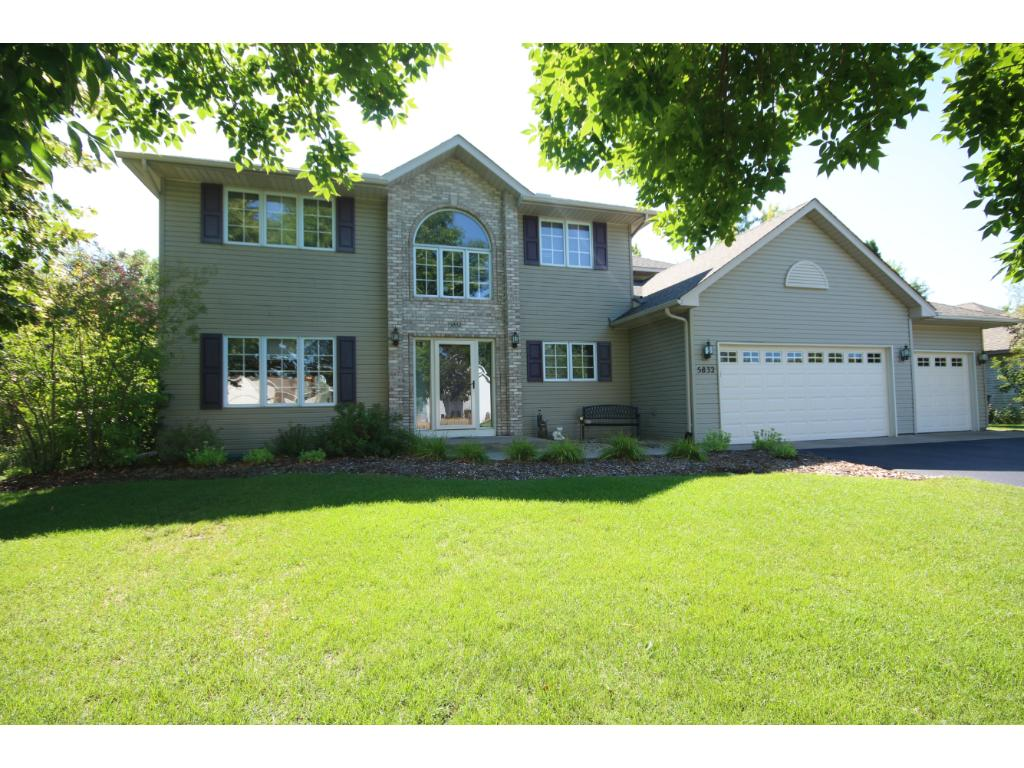 red pine boulevard white bear twp mn mls  gorgeous executive home