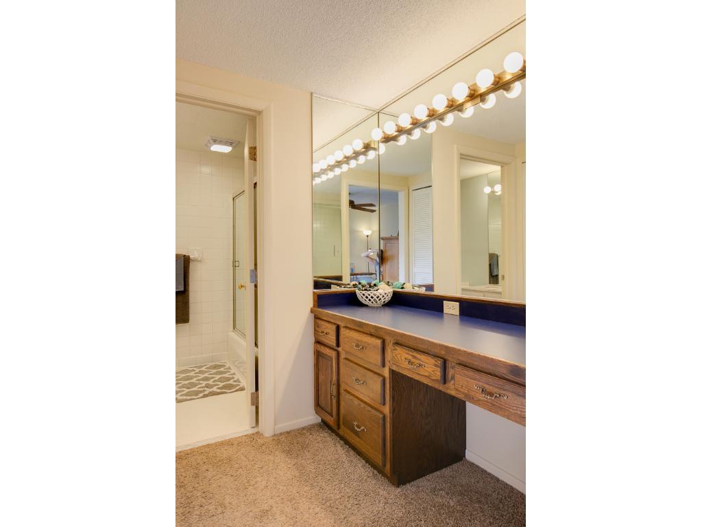 Vanity in Master Bedroom.