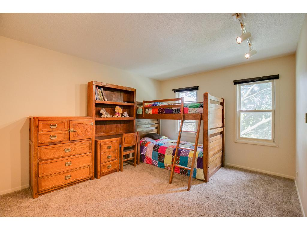Generously sized upstairs  second bedroom.
