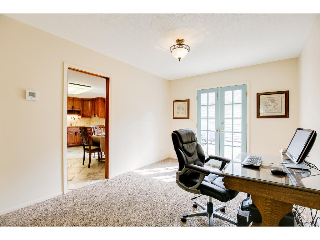 Flex-room, currently used as office, could be formal dining room.