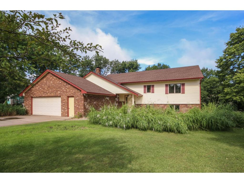 Welcome home to this well maintained split level on a private lot