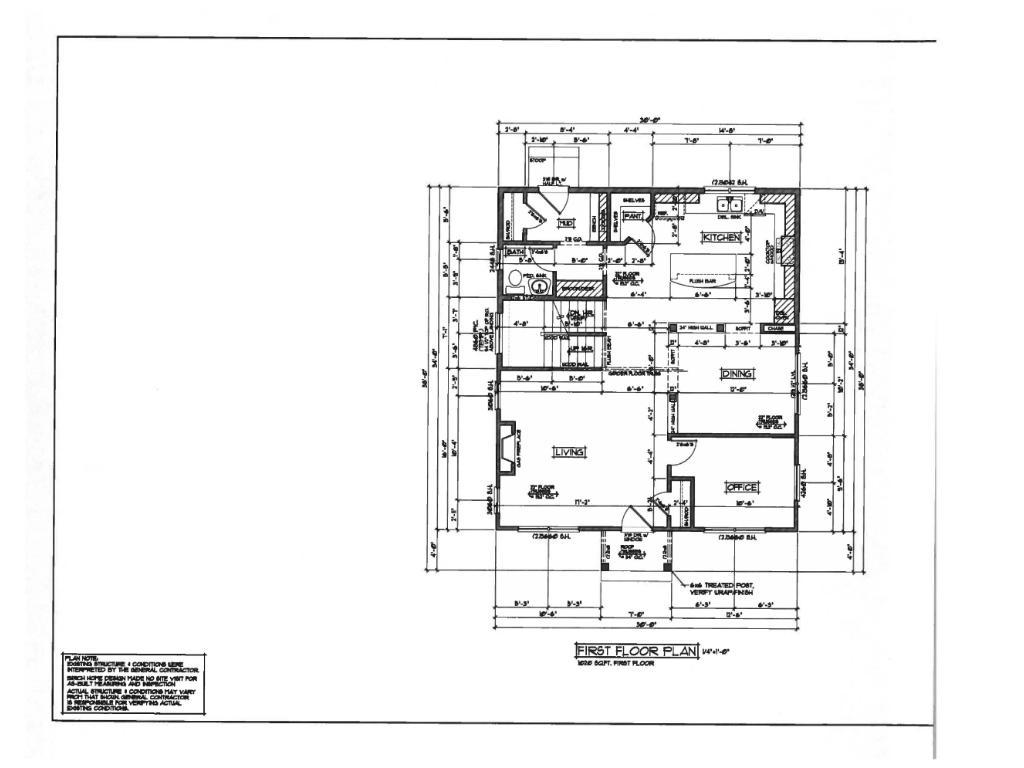 1st floor design