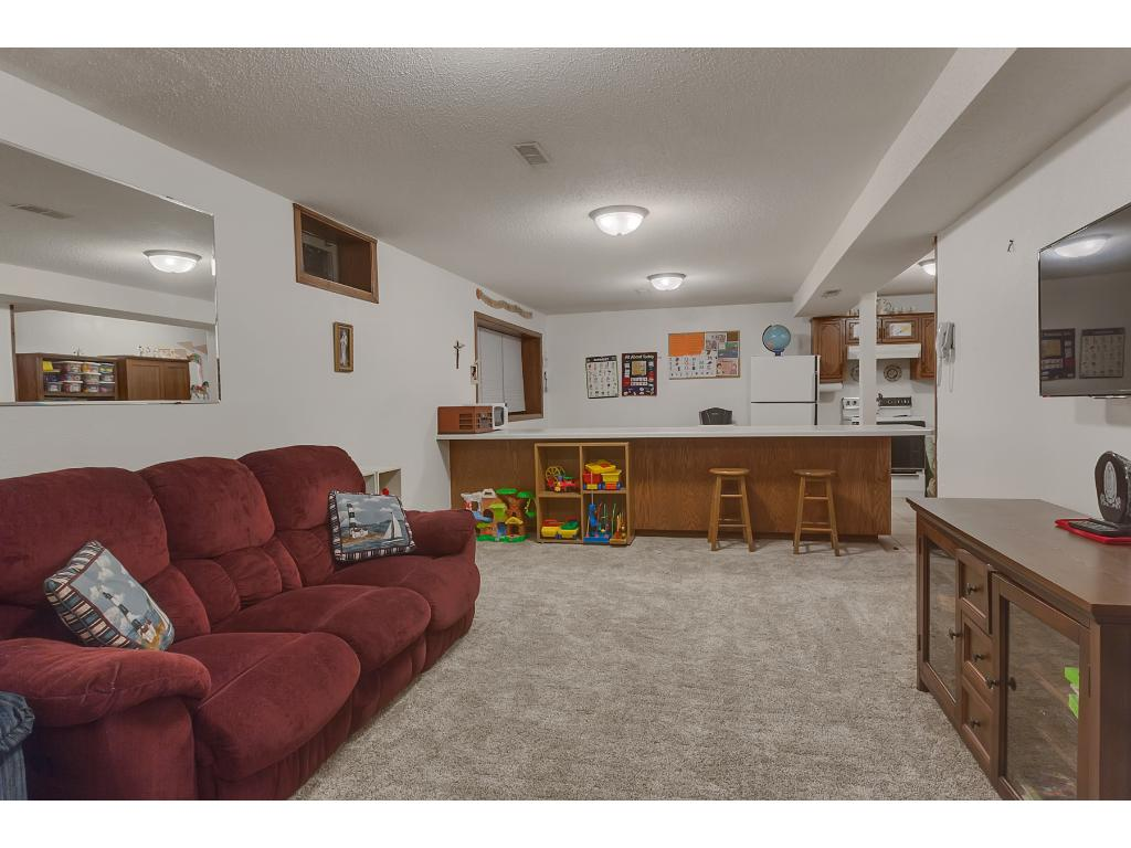 The family room also has new carpet and is a great size measuring 18x12.