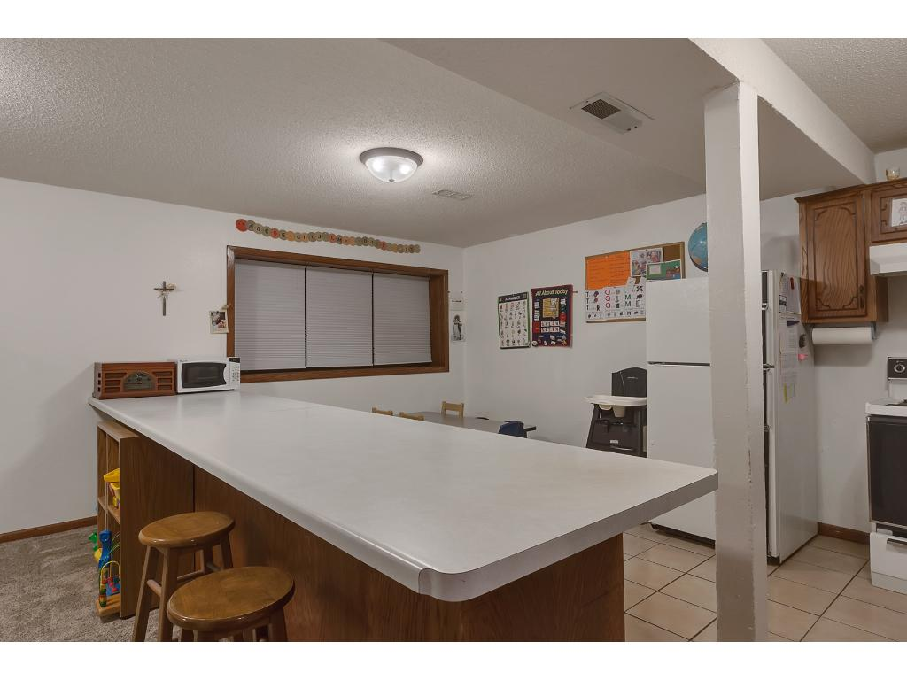 Enjoy an extra kitchen in the lower level which will come in handy when guests arrive for extended stays.