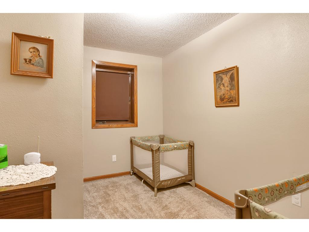 Here we have the 4th bedroom or it could be used as an office/den.