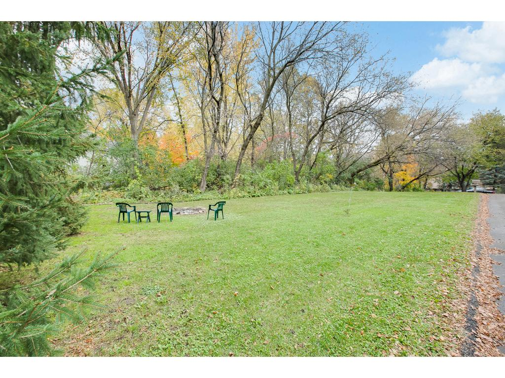 Massive .77 acre lot with plenty of yard for kids, dogs or whatever you like!