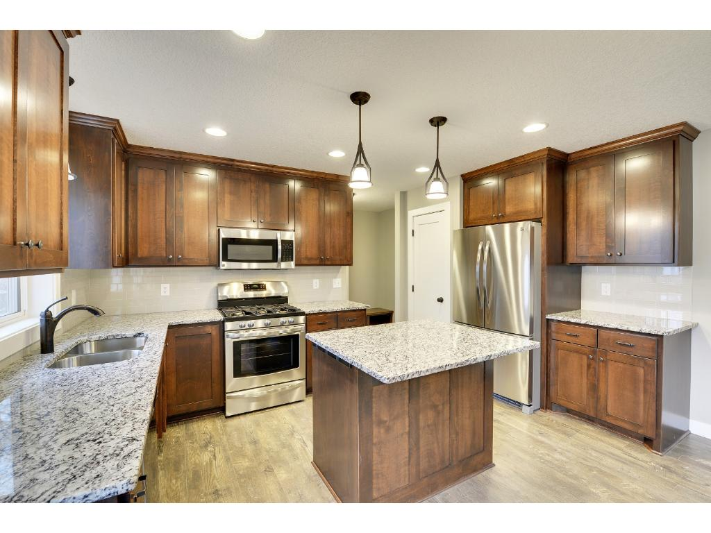 Granite Counter tops, Stainless Steel Appliances