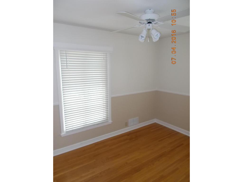 9 x 11 main floor bedroom