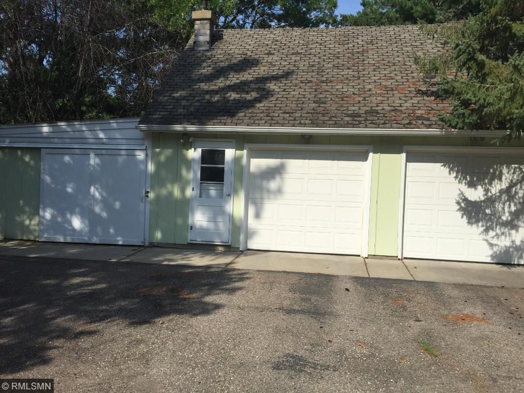 2 car heated garage,  extra stall for storage also lots of storage in the back of the garage too.