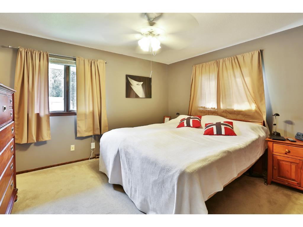 Master bedroom has 3/4 bath suite!