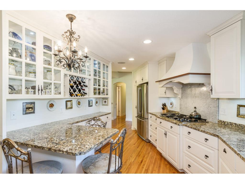 Everyone deserves a haiku home, this warm kitchen space serves as the nucleus of superb living.