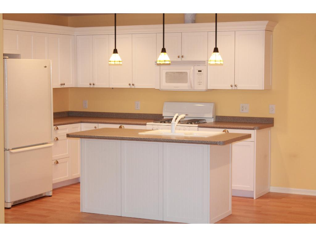 Beautifully updated kitchen with stunning custom cabinetry!