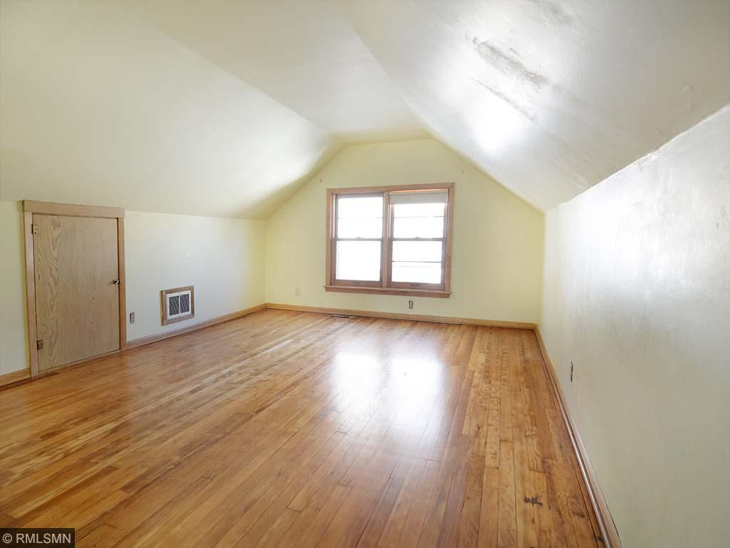Large finished half story. Gorgeous fir floors, ample head room and closet space.