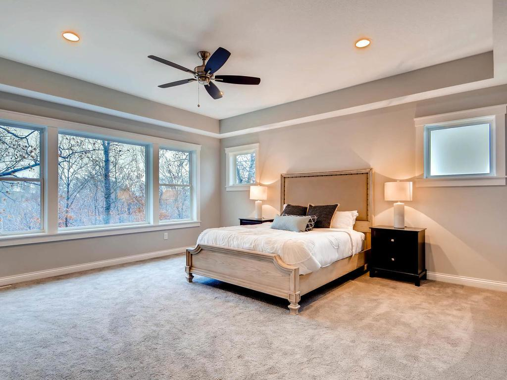 Sanctuary away from the kids...spacious master bedroom