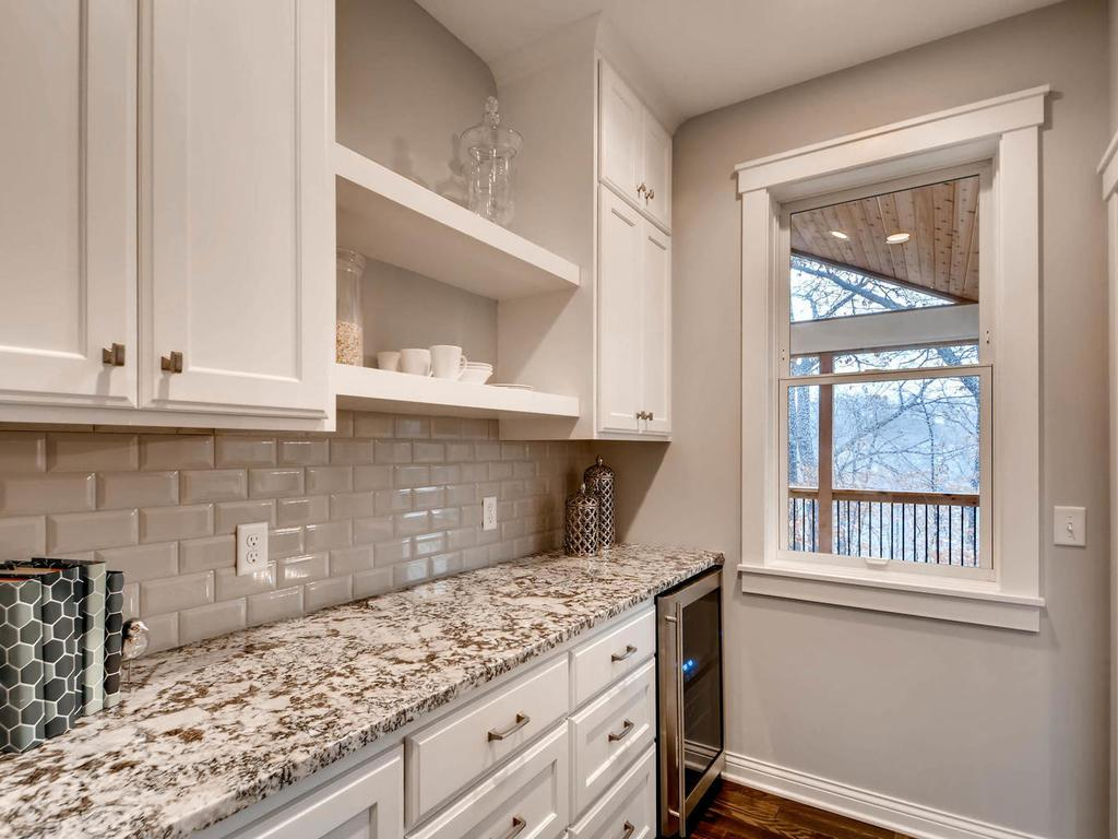 Mudroom station with full walk in closet storage