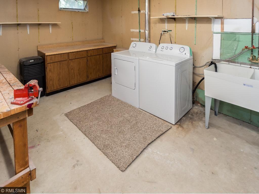 Laundry/work room