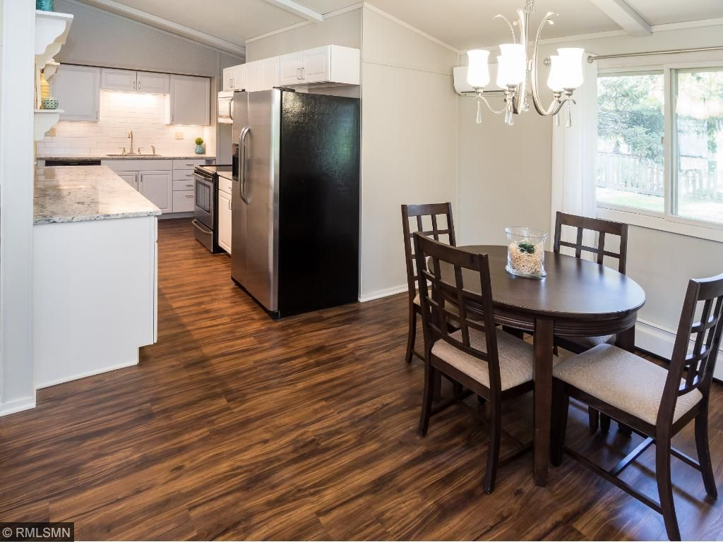 beautiful new flooring throughout the home!