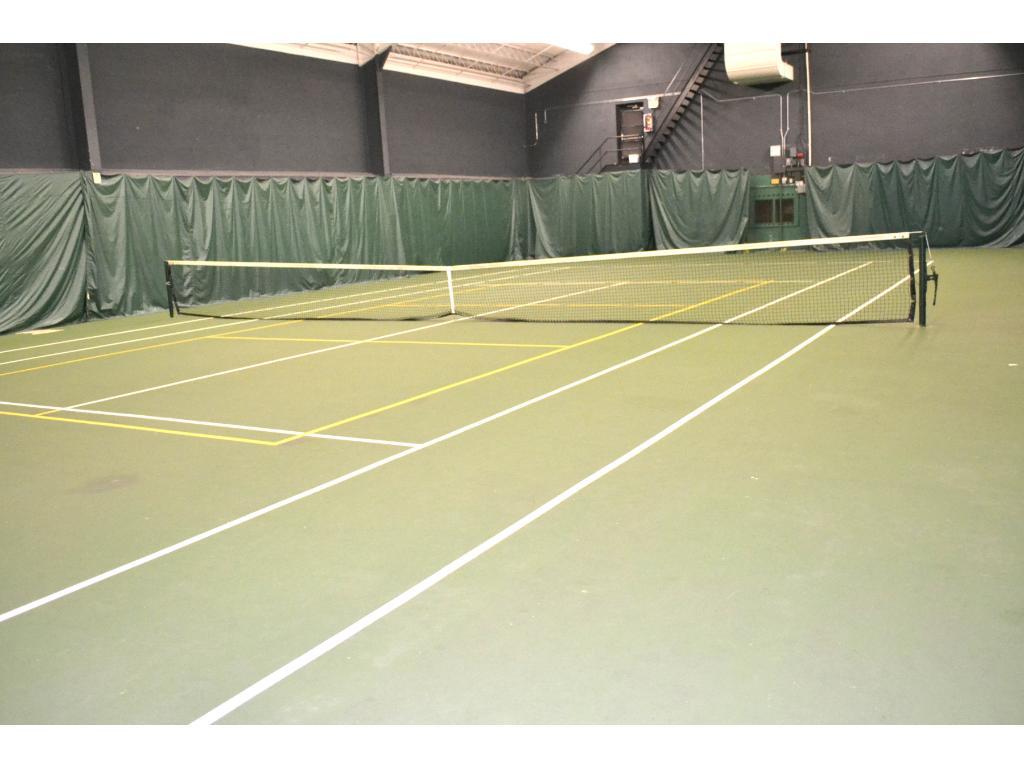 Indoor and outdoor tennis