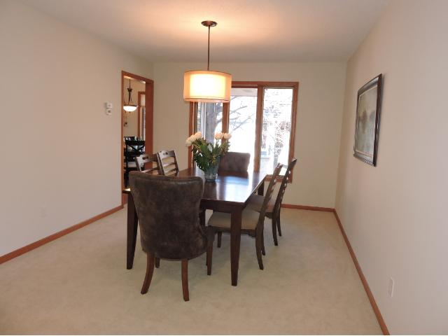 Nice sized formal dining room.